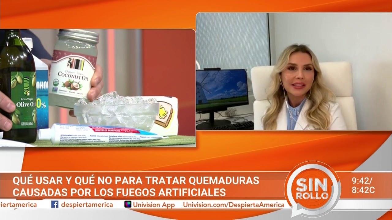 Cómo actuar ante quemaduras por uso de pólvora y fuegos artificiales   Dra. Annie González