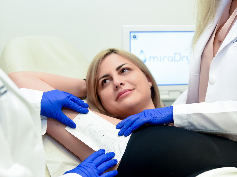 miraDry Miami Procedure Photo #4 at Bowes Dermatology by Riverchase