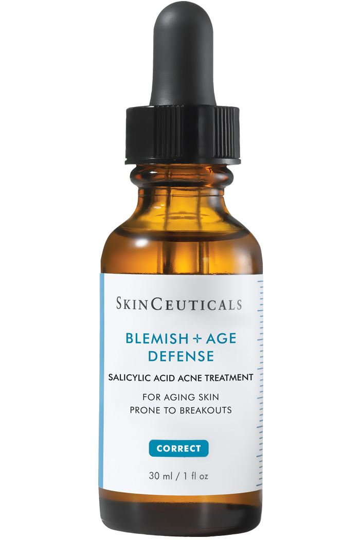 Salicylic acid acne treatment for aging skin prone to breakouts