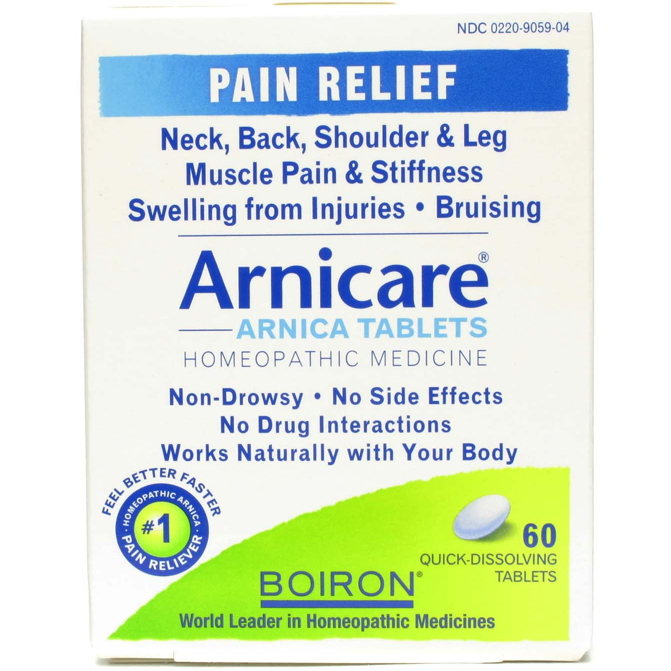 Arnica Tablets Arnicare® by Boiron Inc.